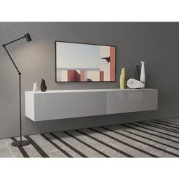 """Nadel Floating TV Stand for TVs up to 85"""" 