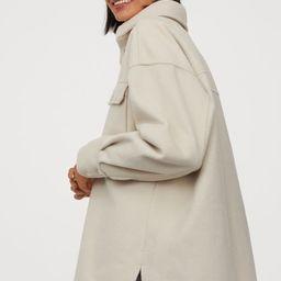 Felted Shirt Jacket | H&M (US)