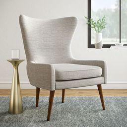 Erik Upholstered Wing Chair | West Elm (US)