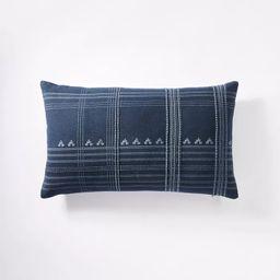 "14""x24"" Oversized Lumbar Woven Textured Pillow - Threshold™ designed with Studio McGee | Target"