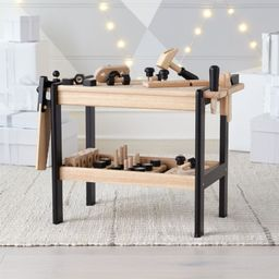 Wooden Toy Workbench + Reviews | Crate and Barrel | Crate & Barrel