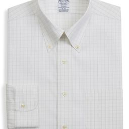 Regent Regular Fit Windowpane Dress Shirt | Nordstrom