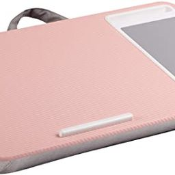 LapGear Home Office Lap Desk with Device Ledge, Mouse Pad, and Phone Holder - Pink - Fits Up to 1... | Amazon (US)
