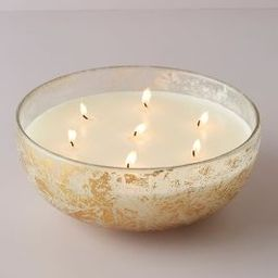 Avalon Lustered Glass Candle   Anthropologie (US)