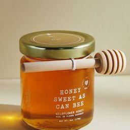 Heartfelt by Anthropologie Sweet As Can Bee Wildflower Honey Jar   Anthropologie (US)