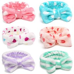 IVARYSS Makeup Headband, 6 Pcs Microfiber Soft Fuzzy Spa Headband for Washing Face, Cosmetic Faci... | Amazon (US)
