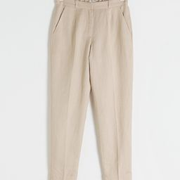 Tapered Cotton Trousers   & Other Stories
