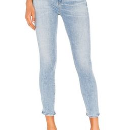 Citizens of Humanity Rocket Crop Sculpt Mid Rise Skinny in Soft Fade from Revolve.com   Revolve Clothing (Global)