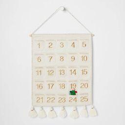 Fabric Christmas Countdown Calendar with Pockets - Opalhouse™ | Target