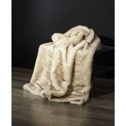 "De Moocci Mink Faux Fur Throw - 50""x60""   Target"