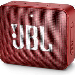 JBL GO2 - Waterproof Ultra Portable Bluetooth Speaker - Red   Amazon (US)
