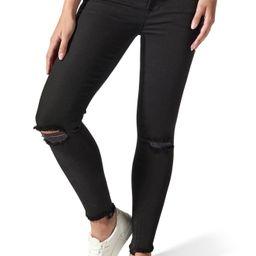 Women's Blanqi Ripped Postpartum/nursing Skinny Jeans, Size 2 - Black | Nordstrom