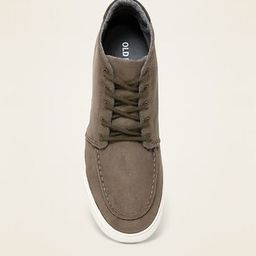 Faux-Suede Mid-Top Moccasins for Men   Old Navy (US)