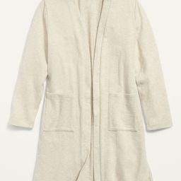 Cozy Super-Long Open-Front Sweater for Girls   Old Navy (US)