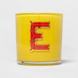7oz Glass Alphabetical Soy Wax Monogram Candle - Opalhouse™   Target
