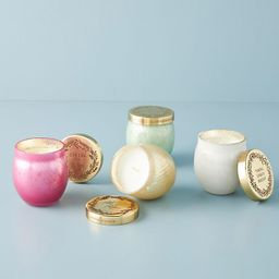 Holiday Mantra Mini Glass Candle | Anthropologie (US)