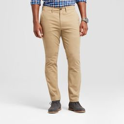 Men's Athletic Fit Hennepin Chino Pants - Goodfellow & Co™   Target
