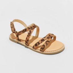 Toddler Girls' Mabyn Ankle Strap Sandals - Cat & Jack™   Target