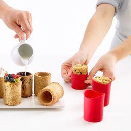 Milk & Cookies Shot Glass Making Kit   UncommonGoods