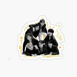 'BTS MAP OF THE SOUL 7 Concept Photo version 4 OT7' Sticker by rmint99   Redbubble (US)