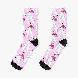 'Fine Line Harry Styles' Socks by tastebuds | Redbubble (US)