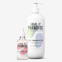 Isle of Paradise Super-Size Self-Tanning Drops & Butter   QVC