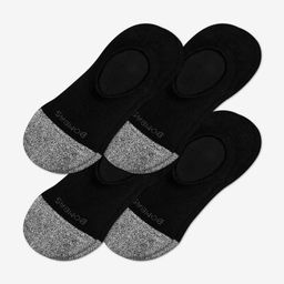Men's Cushioned No Shows 4-Pack   Bombas Socks