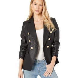 Nellie Faux Leather Blazer   Zappos