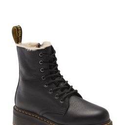 Women's Dr. Martens Jadon Platform Boot, Size 10US/ 8UK - Black | Nordstrom