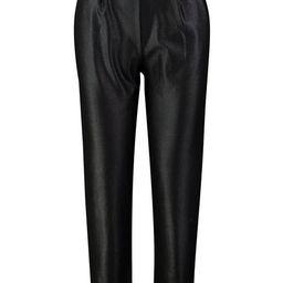 Faux Leather Belted High Waist Pants | Boohoo.com (US & CA)