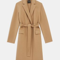 Belted Coat in Double-Face Wool-Cashmere | Theory