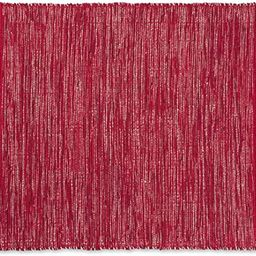 DII VARIEGATED RECYCLED YARN 2x3 FT Rug, Red Varigated   Amazon (US)