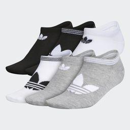 Trefoil Superlite No-Show Socks 6 Pairs | adidas (US)