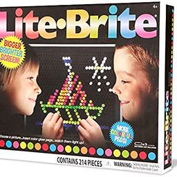 Basic Fun Lite-Brite Ultimate Classic Retro Toy, Gift for Girls and Boys, Ages 4+, Multicolor | Amazon (US)