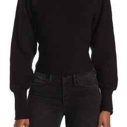 ASTR the Label   Puff Sleeve Mock Neck Sweater   Nordstrom Rack   Nordstrom Rack