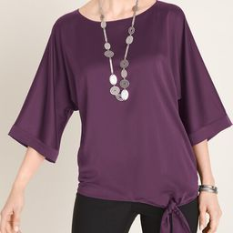 Tie-Detail Dolman-Sleeve Blouse   Chico's