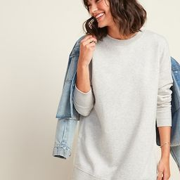 Loose Tunic Sweatshirt for Women | Old Navy (US)