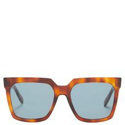 Celine Eyewear - Square Acetate Sunglasses - Womens - Tortoiseshell | Matchesfashion (Global)