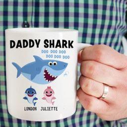 Daddy Shark Mug   Etsy   Etsy (US)