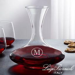 Luigi Bormioli Crescendo Personalized 68 oz. Captain's Wine Decanter   Bed Bath & Beyond