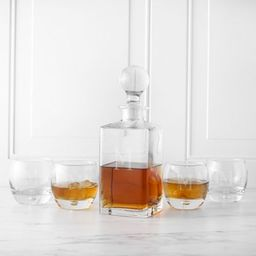 Cathy's Concepts 5-Piece Square Whiskey Decanter Set | Bed Bath & Beyond