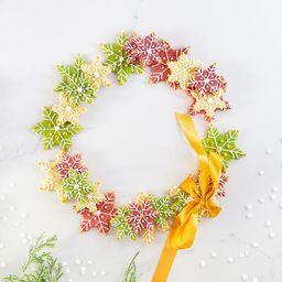 Holiday Cookie Wreath Baking Kit   UncommonGoods