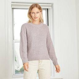 Women's Crewneck Pullover Sweater - Universal Thread™ | Target