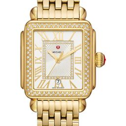Deco Madison Mid Diamond Watch Head & Bracelet, 33mm   Nordstrom