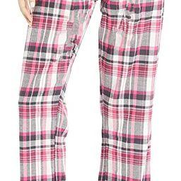 Bottoms Out Women's Cotton Flannel Pajama Pant | Amazon (US)
