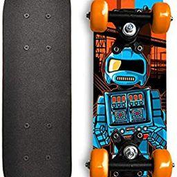 Rude Boyz 17 Inch Mini Wooden Cruiser Graphic Beginner Kids Skateboard | Amazon (US)