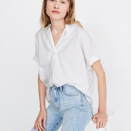 Park Popover Shirt | Madewell