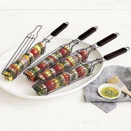Kabob Grilling Baskets   UncommonGoods