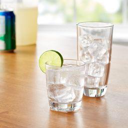 Mainstays 16-Piece Drinkware Glass Set | Walmart (US)