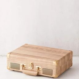 Crosley UO Exclusive Wood Cruiser Bluetooth Record Player | Urban Outfitters (US and RoW)